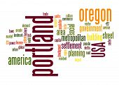 Portland Word Cloud