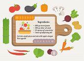 image of recipe card  - Recipe card - JPG