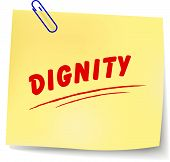 ������, ������: Dignity Message