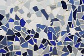 ceramic mosaic wall