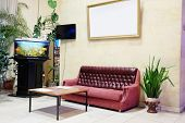 stock photo of reception-area  - image foyer - JPG