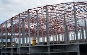 image of girder  - Construction site - JPG