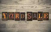 foto of yard sale  - The words  - JPG