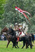 Polish cavalry poster