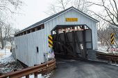 stock photo of covered bridge  - The Keller - JPG