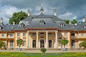 foto of palace  - Pillnitz Palace  - JPG