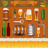 pic of keg  - Beer infographics - JPG