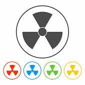 image of nuke  - radiation symbol - JPG