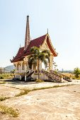 picture of crematory  - This incinerator is in Thailand is a Buddhist tradition that people are linked - JPG