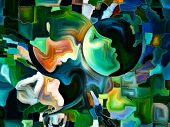 stock photo of expressionism  - Colors of the Mind series - JPG
