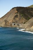 picture of bixby  - View of a bridge on the great ocean Road in California - JPG