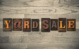 picture of yard sale  - The words  - JPG