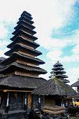 image of hindu  - Besakih temple one of Hindu temple in Bali Indonesia - JPG