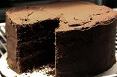 pic of home-made bread  - Java River Home made from scratch chocolate cake - JPG
