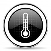 pic of temperature  - thermometer icon - JPG