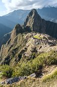 foto of andes  - Machu Picchu in the Sacred Valley - JPG