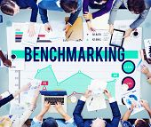 image of stock market data  - Bench Marketing Finance Stock Marketing Business Concept - JPG