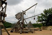 stock photo of trebuchet  - trebuchets  - JPG