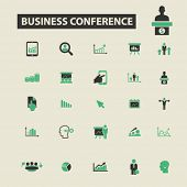 Постер, плакат: business conversation icons business conversation logo business conversation vector business conv