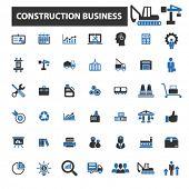 Постер, плакат: construction business icons construction business logo construction business vector construction