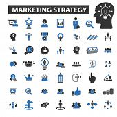 Постер, плакат: marketing strategy icons marketing strategy logo marketing strategy vector marketing strategy fla