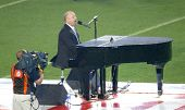MIAMI - FEBRUARY 4: Singer Billy Joel performs at Super Bowl XLI between the Chicago Bears and the I