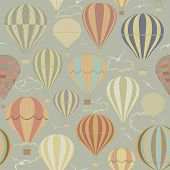 Background With Hot Air Balloons.eps