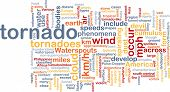 image of waterspout  - Background concept wordcloud illustration of tornado storm weather - JPG