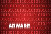 Adware Abstract Background