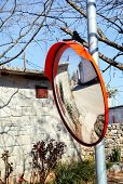 Outdoor Convex Mirrors. Best Price Traffic Safety Outdoor Convex Rear View Mirror. Convex Mirrors Fo poster