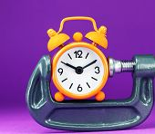 Oange Purple Time Squeeze