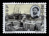 Emperor Haile Selassie And Sugar Factory