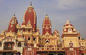 stock photo of laxmi  - Famous Laxmi Narayan temple - JPG