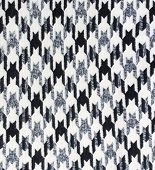 Tweed fabric houndstooth texture