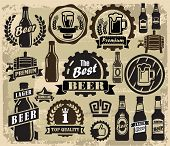 beer pub labels