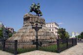 pic of bohdan  - Monument Boghdan Hmelnitsky on the square in Kiev Ukraine - JPG