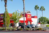 Sacramento, Usa - September 23:  In-n-out Burger Restaurant On September 23, 2013 In Sacramento, Cal