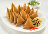 picture of samosa  - Delicious - JPG