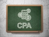 picture of cpa  - Finance concept - JPG