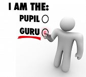 picture of guru  - I am the Guru Words Teacher Master Expert Leader - JPG