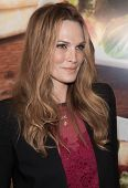 NEW YORK-MAY 29: Actress Molly Sims attends the Wendy's #NewSaladCollection fashion event on March 1