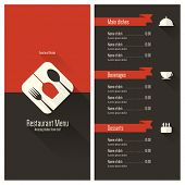 picture of diners  - Restaurant menu - JPG
