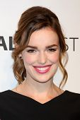 LOS ANGELES - MAR 23:  Elizabeth Henstridge at the PaleyFEST 2014 -