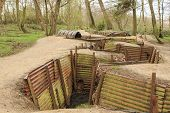 picture of world war one  - Trenches in Flanders Fields Ypres great world war one Hill 62 - JPG