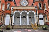 picture of synagogue  - Birmingham in West Midlands England - JPG
