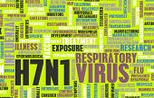 picture of avian flu  - H7N1 Concept as a Medical Research Topic - JPG