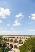 picture of masterpiece  - The Roman architects and hydraulic engineers who designed this bridge created a technical as well as an artistic masterpiece - JPG