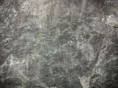 stock photo of solid  - Brown grunge wall stone background or texture solid nature rock - JPG