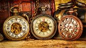 picture of vintage jewelry  - Vintage Antique pocket watch - JPG