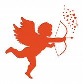 picture of cupid  - Postcard Valentine - JPG